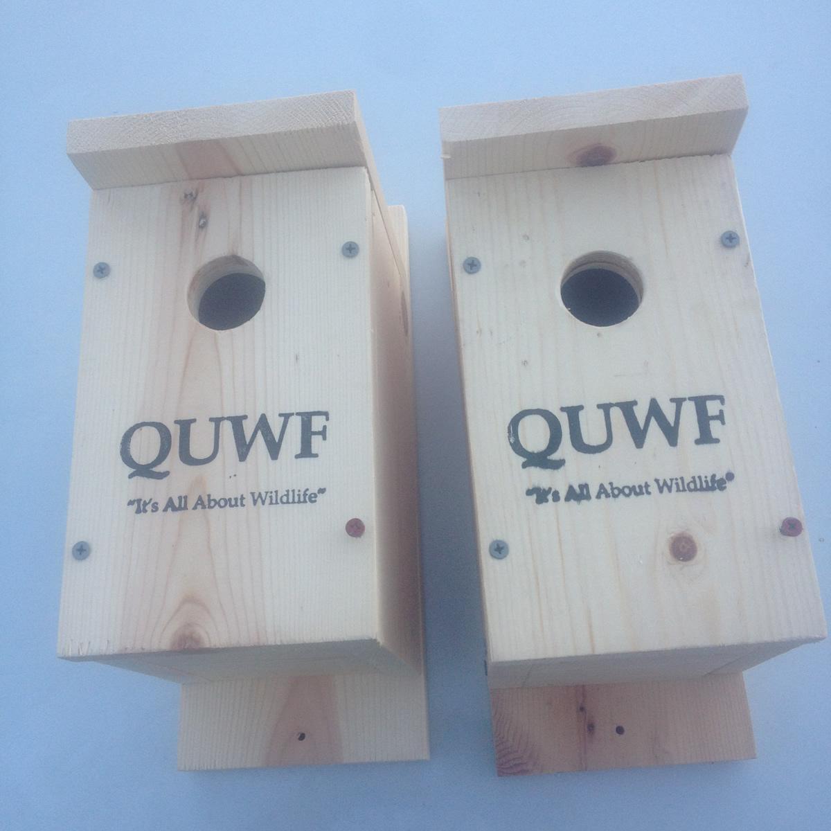 QUWF-NC Bluebird Houses